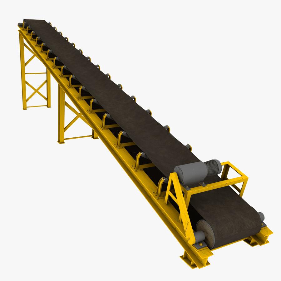 3д модели ленточного конвейера