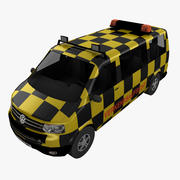 Follow Me Volkswagen T5 3d model