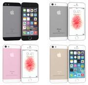 Apple iPhone SE All Colors 3d model
