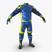 Moto Gear Generic 2 3D Модель 3d model