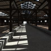 Fazenda Interior 3d model