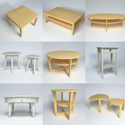 Ikea-tafelpakket 3d model
