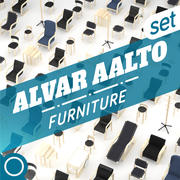 Alvar Aalto Collection 3d model