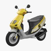 Moderne scooter 3d model