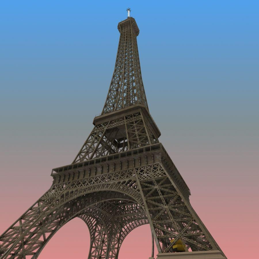 Эйфелева башня royalty-free 3d model - Preview no. 1