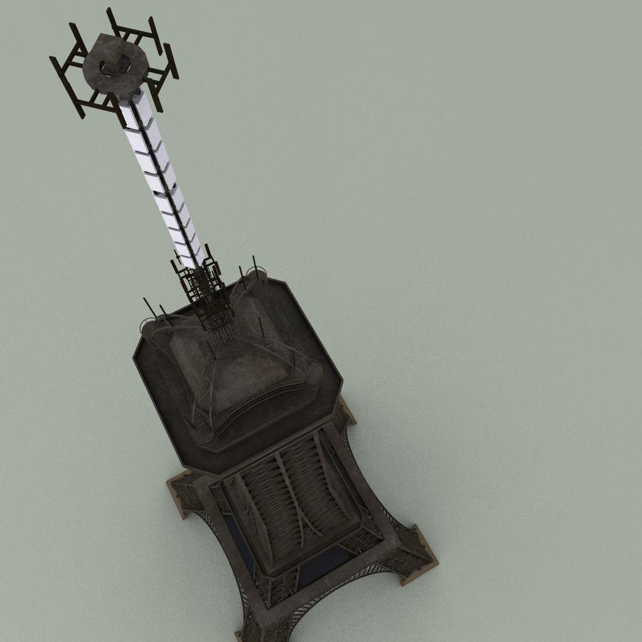 Эйфелева башня royalty-free 3d model - Preview no. 11