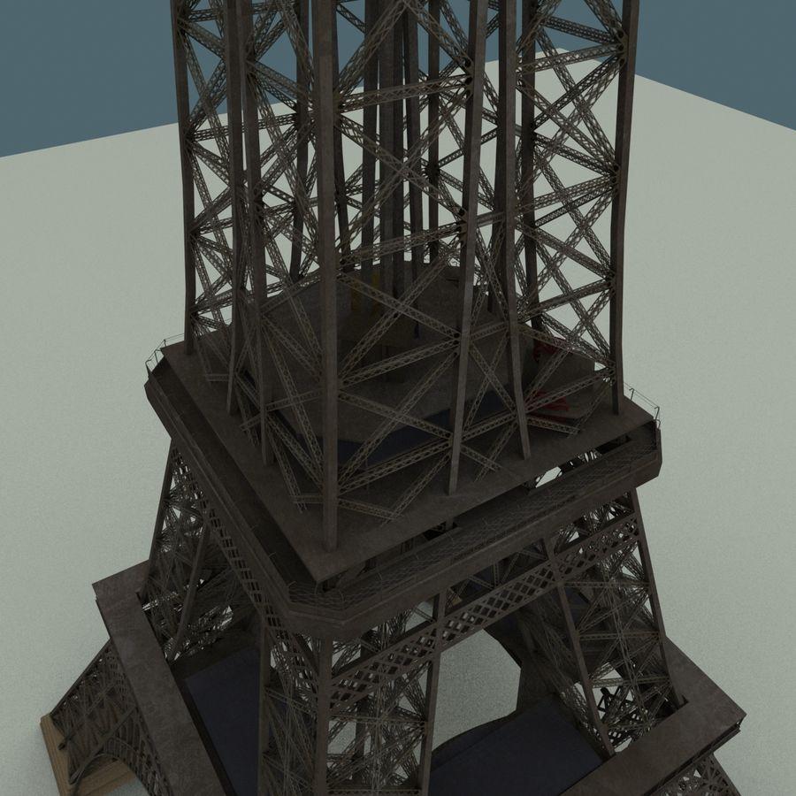 Эйфелева башня royalty-free 3d model - Preview no. 9