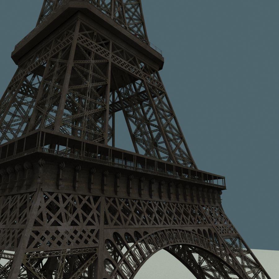 Эйфелева башня royalty-free 3d model - Preview no. 8
