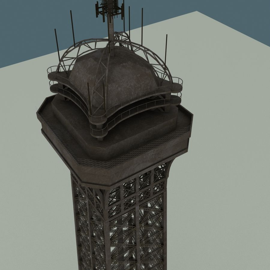 Torre Eiffel royalty-free 3d model - Preview no. 12