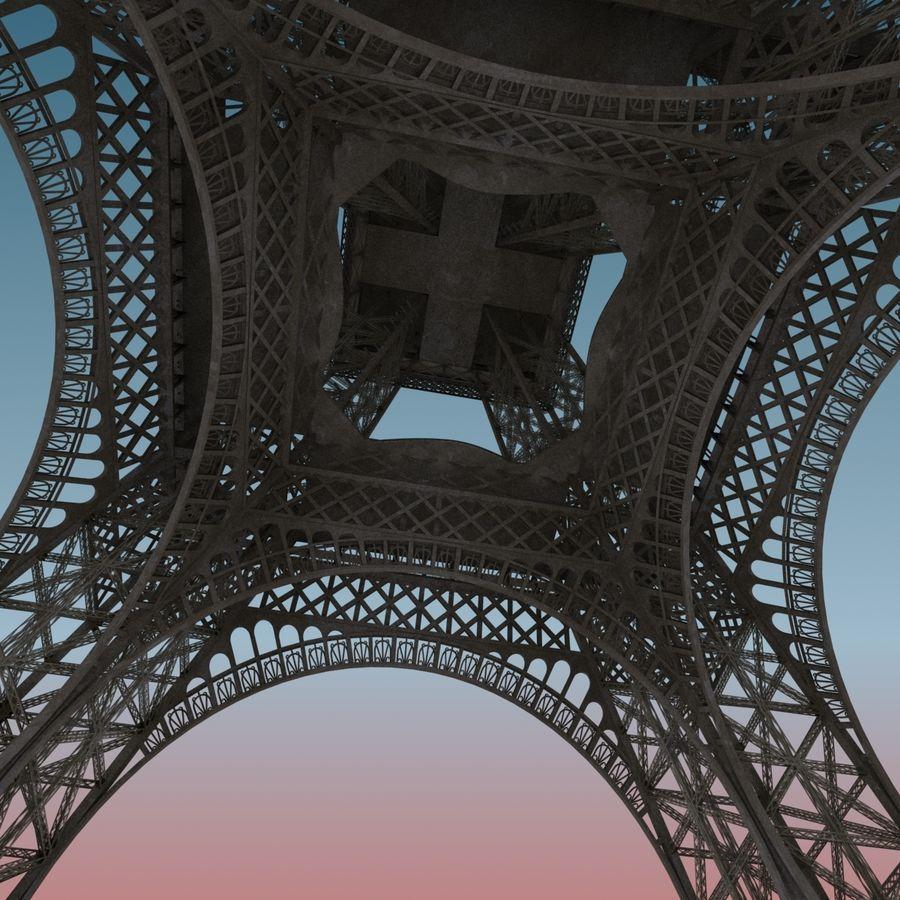 Эйфелева башня royalty-free 3d model - Preview no. 2