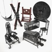 BDSM Möbel 3d model
