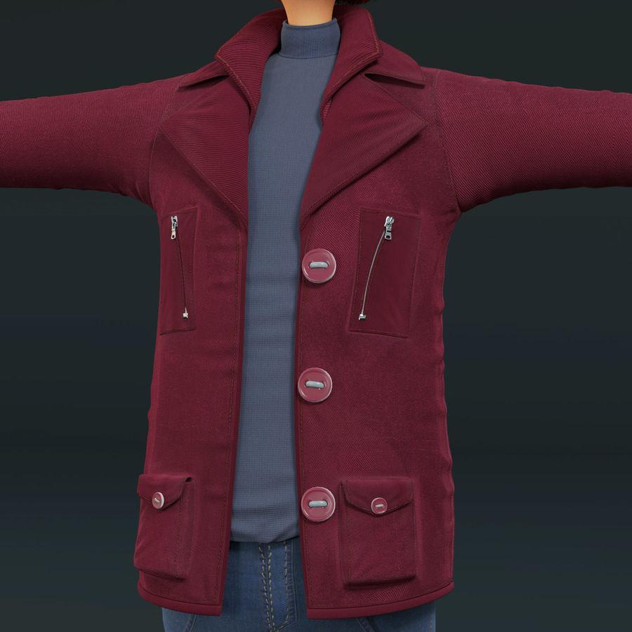 Postać z kreskówki chłopiec nie jest uzbrojony royalty-free 3d model - Preview no. 16