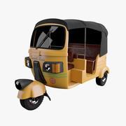AutoRickshaw High Poly 3d model