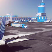 luchthaven 01 3d model