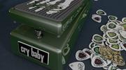 Dunlop Kirk Hammett Wah pedaal 3d model