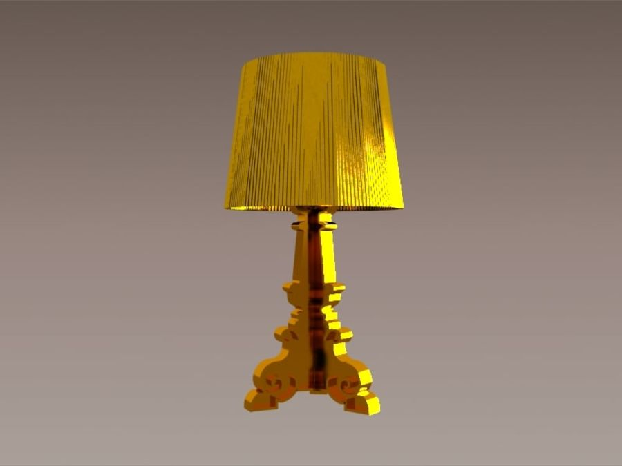 Lampa Kartell Bourgie royalty-free 3d model - Preview no. 3