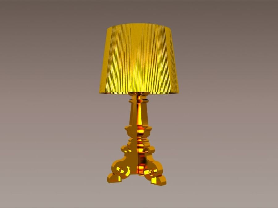 Lampa Kartell Bourgie royalty-free 3d model - Preview no. 4