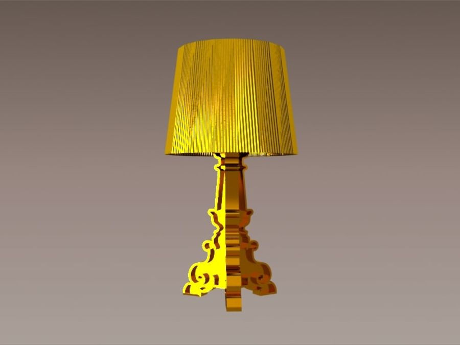 Lampa Kartell Bourgie royalty-free 3d model - Preview no. 2