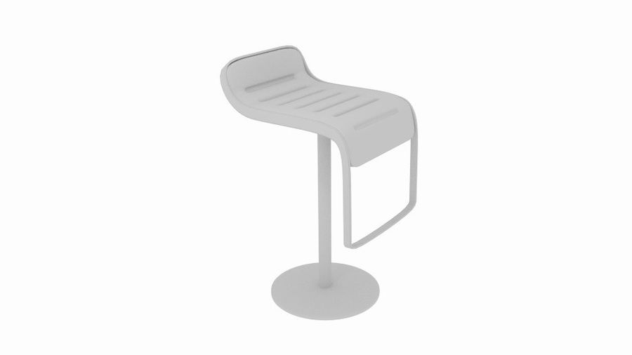 Bar Lounge pall royalty-free 3d model - Preview no. 5