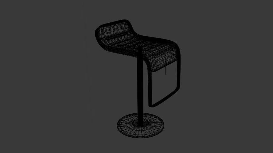Bar Lounge pall royalty-free 3d model - Preview no. 6