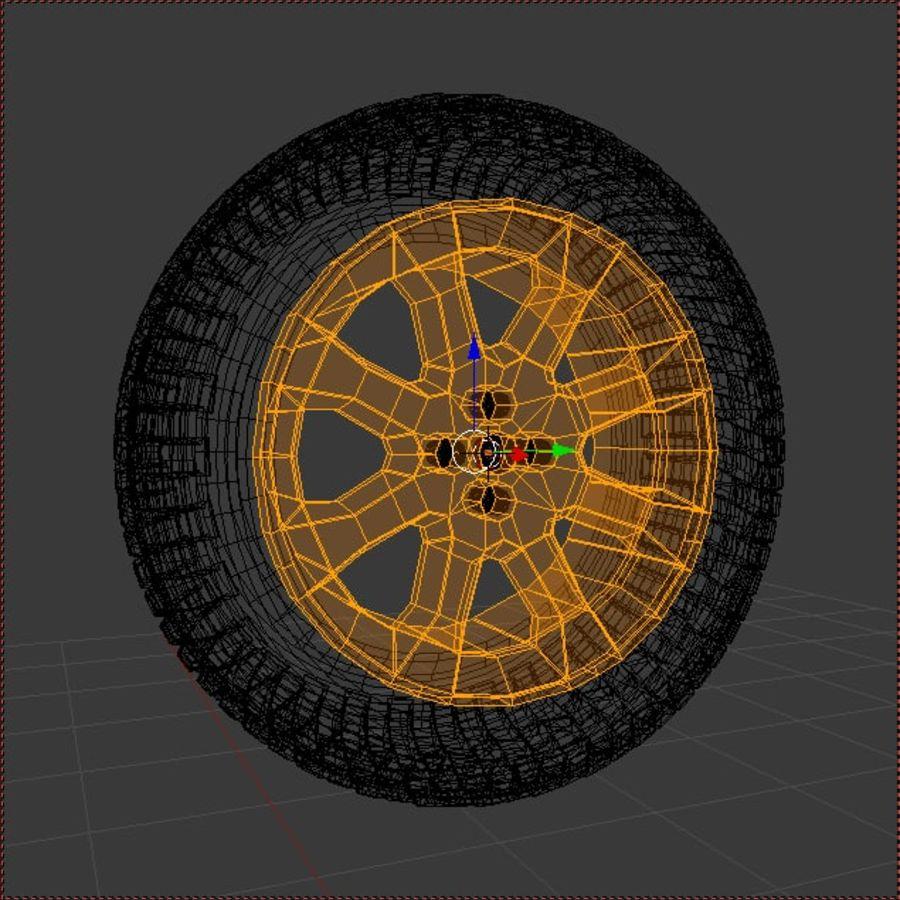 Custom Wheel - Eon royalty-free 3d model - Preview no. 2