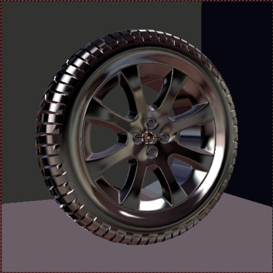 Custom Wheel - Eon royalty-free 3d model - Preview no. 4