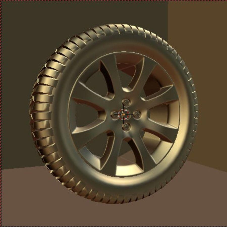 Custom Wheel - Eon royalty-free 3d model - Preview no. 5