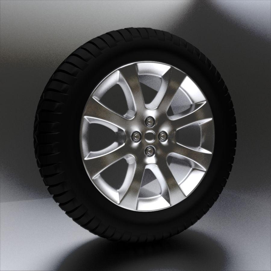 Custom Wheel - Eon royalty-free 3d model - Preview no. 1