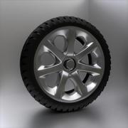 Rueda personalizada - Homebrew modelo 3d
