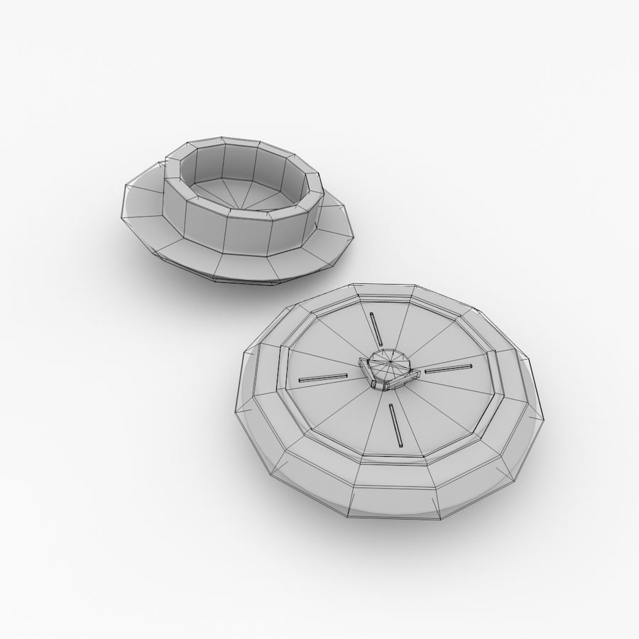 Sink Plug royalty-free 3d model - Preview no. 5