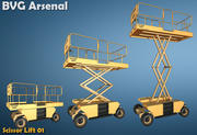 Scissor lift - HQ 3d model