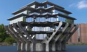 архитектура 3d model