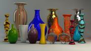 设计师专用花瓶 3d model