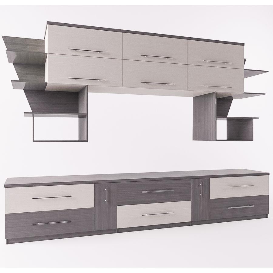 muebles para sala royalty-free modelo 3d - Preview no. 1