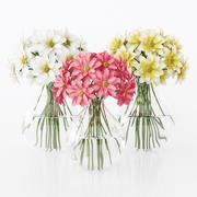 цветок 3d model
