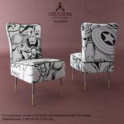 Krzesło Creazioni Valeria 3d model