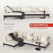 Canapé Flexform FEEL_GOOD_Large 3d model