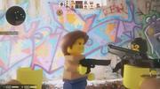 レゴのおもちゃやCS(テロリスト) 3d model