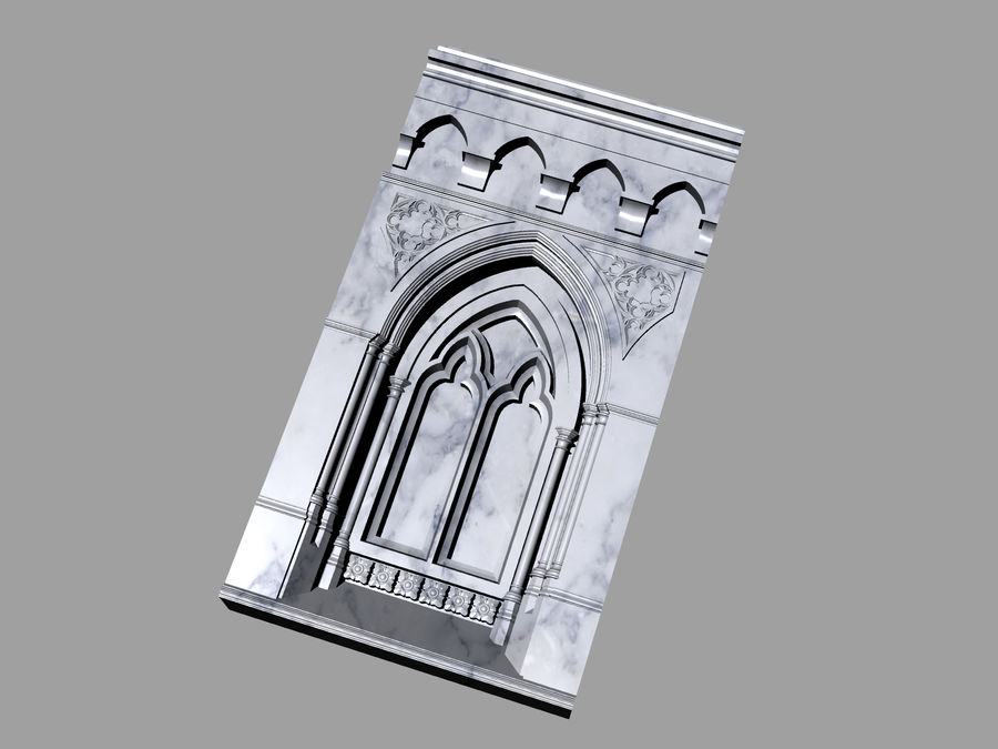 ancient columns ancient columns, arches ancient, ancient window royalty-free 3d model - Preview no. 2