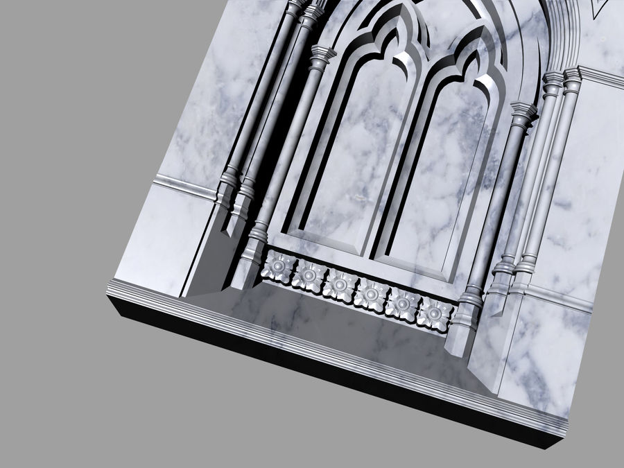 ancient columns ancient columns, arches ancient, ancient window royalty-free 3d model - Preview no. 4