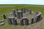 Stonehenge modelo 3d