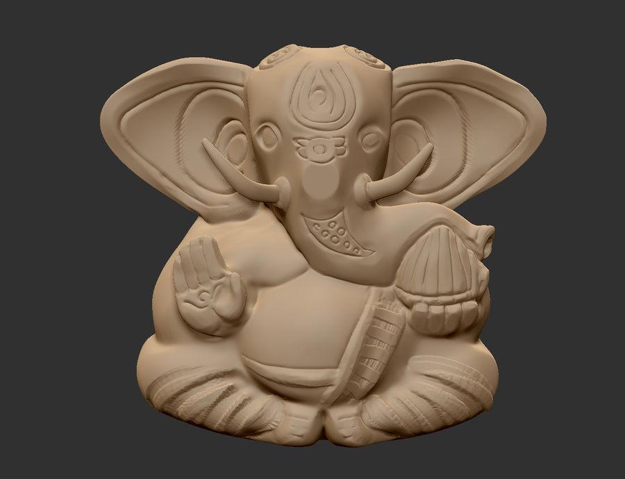 Ganesha royalty-free 3d model - Preview no. 1