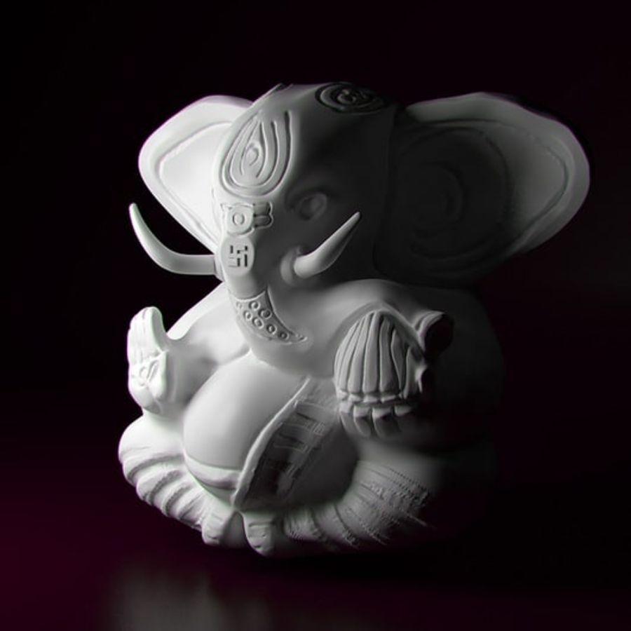 Ganesha royalty-free 3d model - Preview no. 5