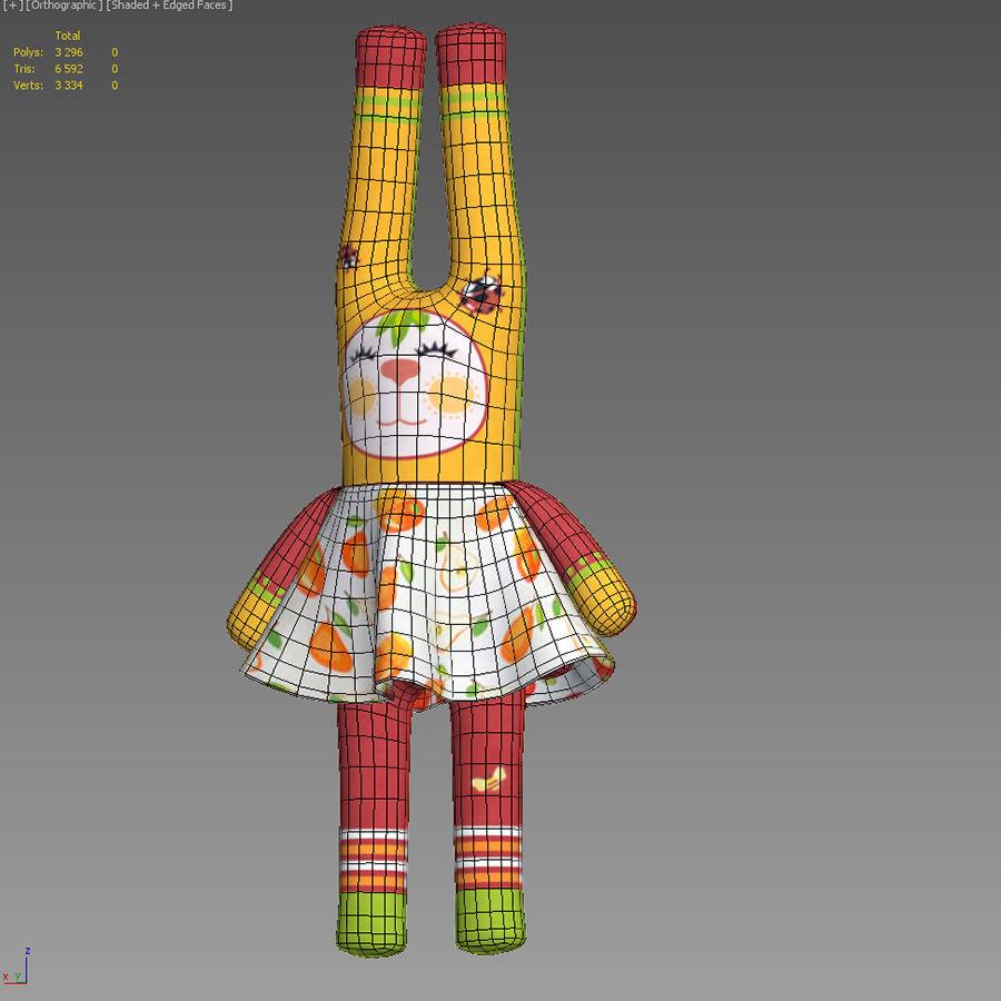 Min kaninleksak royalty-free 3d model - Preview no. 4