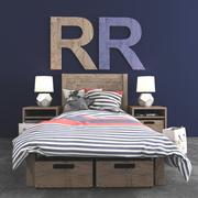 yatak odası takımı 3d model
