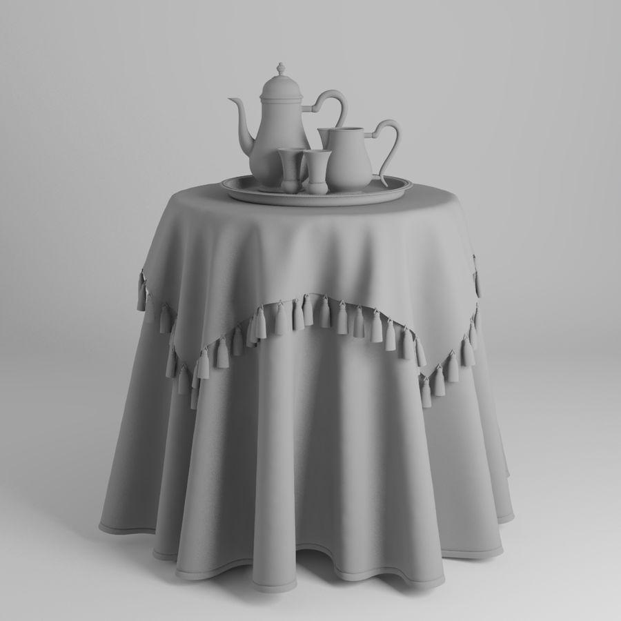 masa örtüsü royalty-free 3d model - Preview no. 4