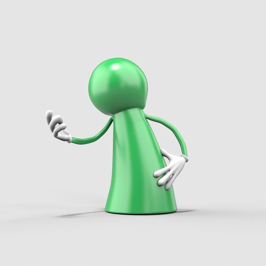 Figure de jeu de bureau royalty-free 3d model - Preview no. 5