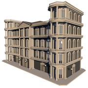 Edifício vitoriano 3d model