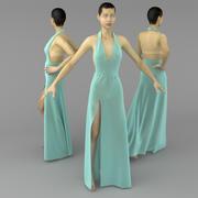 Klänning 3d model