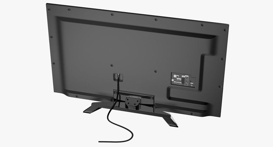 LED-TV royalty-free 3d model - Preview no. 4